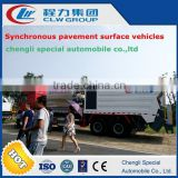 SINO TRUCK HOWO 6X4 high quality useful Synchronous pavement surface vehicle truck for sale