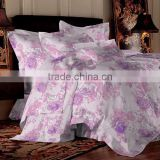 bedding set supplier reactive printing 100% cotton top quaity color fastness bedding set