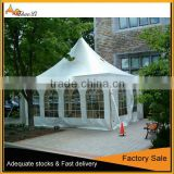 new design luxury garden gazebo with PVC white wall home made gazebo design