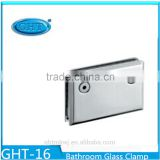 2015 Stainless Steel Door Hinge Glass Glass Shower Bevel Circinal Angle Zero Degree Clamp
