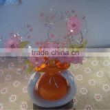 High quality colorful acrylic fresh flower vases