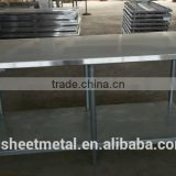 wholesale china 304 stainless steel work table