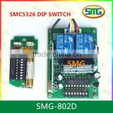 RF Wireless 330MHz 433.92MHz SMC-5326p-3 DIP Switch Remote Control Receiver                                                                         Quality Choice