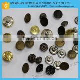 Metal button jeans button /New style custom metal jeans button and rivets