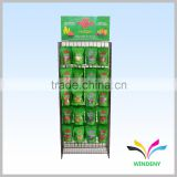 High Quality Hangzhou Factory Metal Hanging Rack Wire Display for food pouches                                                                         Quality Choice