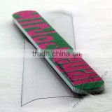 Colorful sand nail file
