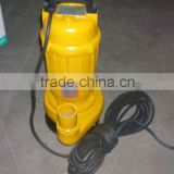 Cost-effective WQD6-16-0.75 Submersible pump, dirty water pump,Cast iron body