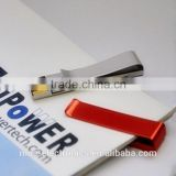 Promotional gift Metal material customized logo printing 2GB, 4GB tie clip usb flash memory pen drive                                                                                                         Supplier's Choice