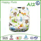 new 2016 happy flute ai2 baby napkin washable reusable cloth diaper pul fabric baby diapers manufacturer in china