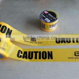 PE Plastic Caution Barricade Tape