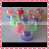 Custom cheap Plastic Big Round Capsule Contain Toy for Vending Machine baby play games Use