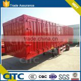 2-3 axles China manufacture tri-axle cargo/box utility trailer for sale