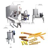 KH full automatical chocolate wafer roll biscuit making machine production line for sale price