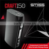 SMISS craft 150w OLED screen TC box mod is the best e cig to buy