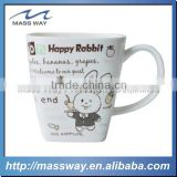 bulk fancy unbreakable cartoon rabbit Kids drinking Melamine cups                                                                         Quality Choice