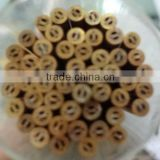 AT004 1.0mm x 400mm Copper & Brss Electrode Tube Double Channel For EDM Drilling Machine