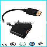Male DisplayPort to HDMI Adapter For Monitor Projector TV HDTV DP to HDMI Female converter