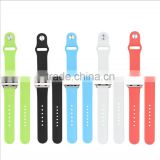 Waterproof silicone watch bracelet,customized logo silicone watch bracelet,Best Selling silicone watch bracelet for iwatch