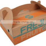 banana apple corrugated paper box