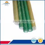 Lightweight and easy FRP self-drilling hollow rock bolts