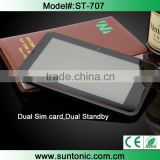 7 inch 3G tablet pc phone calling with dual sim card and dual standby at very reasonable price