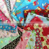 100% cotton printed double-sided flannel ready goods in stock fabric supplier made in china