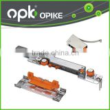 OPK-60765B Soft Closing Cabinet Sliding Door Roller Suitcase Caster Wheel with G608 nylon roller bearing