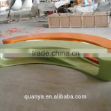 Patio Benche modern design outdoor fiberglass furniture for sale fiberglass long benches