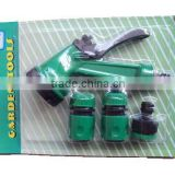 5 pattern spray gun garden hose nozzle set