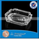 Glass Material Clear Glass No Smoking Ashtray Wholesale