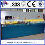 Metform sheet metal swing beam shear,QC12Y-8x3200,sheet metal cutting and bending machine