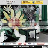 2013 fashion art mosaic tile ,intdoor&outdoor wall mosaic art,glass mosaic art flower pictures