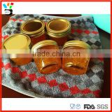 Wholesales Transparent Lead Free Glass Canning / Jam / Honey Jar With Lid