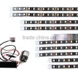 new product rgbw motorcycle led strip light kit neon glow strip with Remote Controller made in china