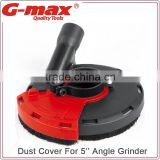 Power Tool Accessories 5'' Dust Cover For Grinder GT-DS125A