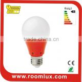 7W CE RoHS thermal conductive plastic E27 led bulb