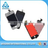 black white for apple iphone 4 lcd display touch screen digitizer , repair parts for iphone 4 lcd display