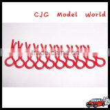 Remote control Body clips Small-ring RC car parts for Kyosho Kyosho HPI HSP TAMIYA TRAXXAS HBX--red