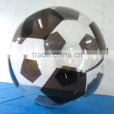 Manufacturer customize ! 0.8mm PVC/TPU floating water walking ball giant water hamster ball floating water walking ball