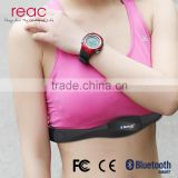 Sport Heart Rate Monitor Chest Strap Sweatproof Wearable Devices Bluetooth Heart Rate Monitor Chest Belt Battery Replacment