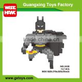 Hot plastic mini building blocks batman action figure toy