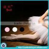 High quality prefational ballet dancing tights lady sexy white pantyhose