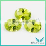 Free Samples Gem Stone Synthetic #172 Yellow Oval Cut Nano Sital Gems for Jewelry Necklace,Earring,Rings
