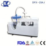 DFX-23A.I Mobile Suction Apparatus breathing suction apparatus medical electric suction apparatus