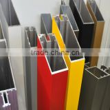 Top quality aluminium curtain wall profiles quality guaranteed with different colors