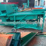 mobile buckwheat paddy wheat grain seed cleaning plant