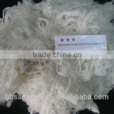 FRESH!! lowest price white wool fiber/yarn waste, 80%-100% wool, 32-40mic, 50-70mm,raw white color,,,