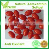 400 mg ISO,GMP Certificate and OEM Private Label Natural Astaxanthin Softgel for Dietary Supplement