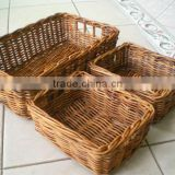 Set of bread rattan basket for bakery eco friendly with 100% natural rattan in Vietnam