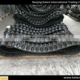 High quantity china subber steel track chassis ,rubber track chains for lawn mower/ eacavator/tractor